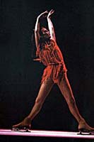 Peggy Fleming performs at Radio City Music Hall